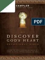 NIV Discover Gods Heart Devotional Bible Sampler