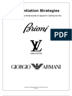Differentiation Strategies of Brioni, Louis Vuitton, And Giorgio Armani 14806ee05fff