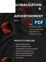 Globalization and Advertisement