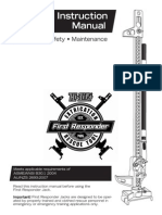 First Responder Instruction Manual English