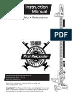 First Responder Instruction Manual English