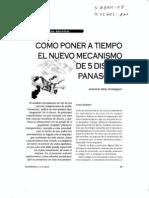 Mecanismos Panasonic