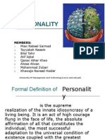 Personality in Psychology