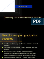 Analysing Financial Performance Report