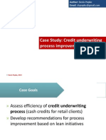 Credit Underwriting Process Improvement