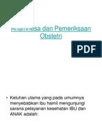 84878266 Anamnesa Dan Pemeriksaan Obstetri