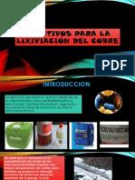 REACTIVOS PARA LA LIXIVIACION DEL COBRE.pptx