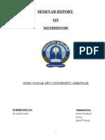 Final Memristor