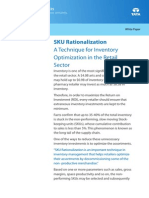 Retail Whitepaper SKU Rationalization Technique Inventory Optimization Retail Sector 0312 1