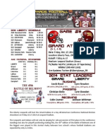 Liberty (6-1) vs Girard (6-1) Game Notes