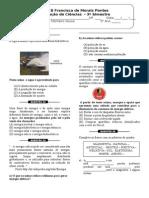 AVALIAÇÃO DE CIÊNCIAS - 3º.doc