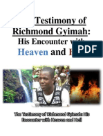 The Testimony of Richmond Gyimah
