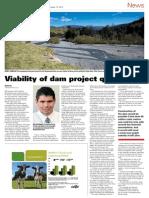 NZ Farmers Weekly- Ruataniwha Dam article