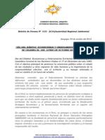 BOLETIN DE PRENSA 015 -2014 - Día Ecosistemas y OT.doc