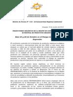 BOLETIN DE PRENSA 016 -2014 - Festiorgánico.doc