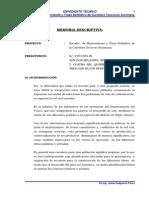 Memoria y Especificaciones .doc