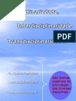 multidiciplinariedade, interdisciplinaridade e transdisciplinaridade.pps