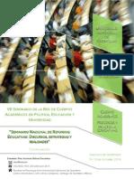 Seminario Nacional de Reformas Educativas- Discursos, estrategias y realidades.pdf