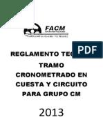 REGLAMENTO TECNICO TRAMO CRONOMETRADO EN CUESTA Y CICUITO PARA GRUPO CM javi.pdf