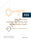 2014 Strategic Plan Update for Homelessness in Contra Costa County
