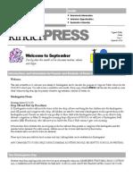 sept newsletter 2014