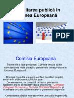 Consultarea publică in Uniunea Europeană.ppt