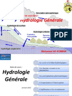 cours d'Hydrologie Générale Polytech Sousse 2012.ppt