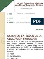 EXTINCION DE LA DE LA OBLIGACION TRIBUTARIA.ppt