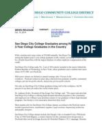 City College Graduate Success