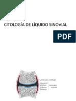 citologia de liquido sinovial y secreción del pezón.ppt