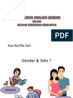 Pendekatan Analisis Gender