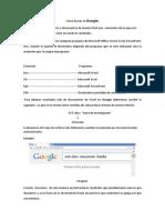 Como buscar en Google.docx