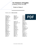 volume 4 intermediate vocabulary