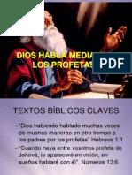 2. DIOS HABLA MEDIANTE LOS PROFETAS parte I.ppt