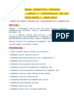 LISTA FULL MATERIALES EN CDS COMPLETO....PRECIOS.doc