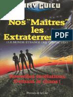 Nos _Maitres_ Les Extraterrestres - Guieu, Jimmy