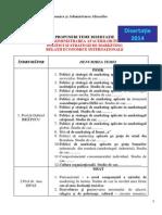 16.10.2013 - Mtsai - Propuneri Teme Disertatie