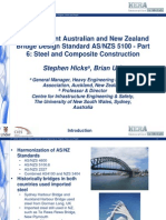 The New Joint Australian and New Zealand Bridge Design Standard AS/NZS 5100 - Part 6
