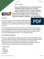 180 Magische Adjektive Liste | 30Tausend - So denken Erfolgsmenschen.