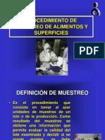 3° PROCEDIMIENTO DE MUESTREO.ppt