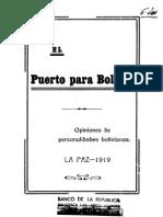 El puerto para Bolivia, opiniones de personalidades bolivianas. 1919.pdf