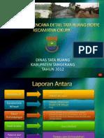 Presentasi Lap Antara RDTR Cikupa