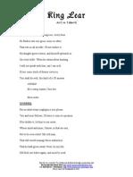 Goneril Monologue
