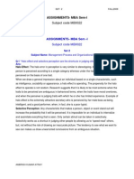 Set2-AKA-MB0022 Management Process and Organizational Behaviour