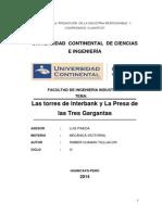 Las torres de Interbank y La Presa de las Tres Gargantas.pdf