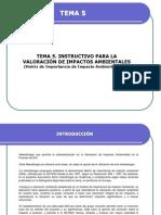 Tema 5_ Matriz de Importancia de Impactos Ambientales (Miia)