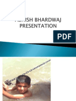 Ashish Bhardwaj Presentation