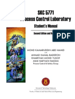 Process Control Laboratory-Student's Manual