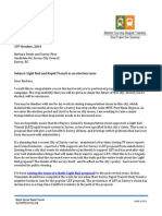2014 Candidate Letters