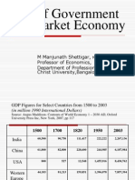 Role of Government in Market Economies